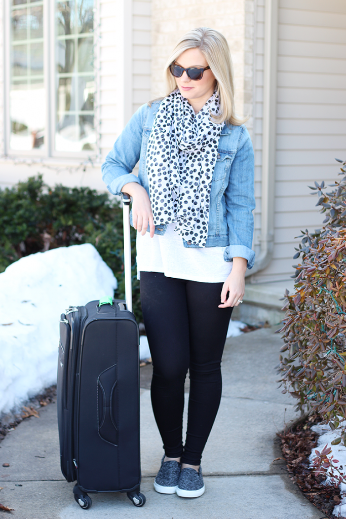 saturday style - airport outfit
